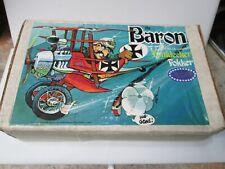 1976 Revell The Baron Fokker Plane Model Unopened Original Box RARE