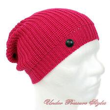 ADIDAS Mütze Beanie Strick Strickmütze lang Winter Longbeanie pink Ski warm NEU