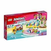 NEW LEGO JUNIORS EASY TO BUILD ANDREA AND STEPHANIE'S BEACH HOLIDAY 10747