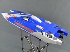 30CC DT Fiber Glass Catamaran Gas RC Boat High Speed RC Racing Boat ARTR Model