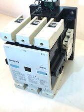 Siemens 3TF50 Contactor  110V 50Hz, 120V 60Hz AC Coil