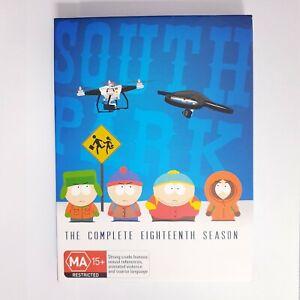 South Park Season 18 TV Series DVD Region 4 AUS Free Postage - Comedy Animation