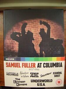 Samuel Fuller at Columbia 1937 -1961 {BLU-RAY}4 DISCS/BOOKLETS/7 FILMS/INDICATOR