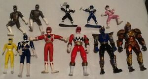 Power Rangers Action Figures lot X11 USED