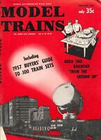 model trains Model Railroading Made Easy magazine December 1957 Good Cond