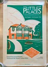 HENDON Church Farm House Mus 1987 North London Suburb 1919-39 poster metroland