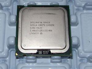Intel Core 2 Extreme QX9650 SLAN3 SLAWN LGA775 1333MHz 3GHz 2MB CPU Prozessoren