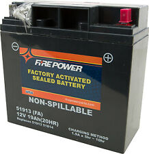 FIRE POWER MPN: 51913 FA Sealed AGM Factory Activated Battery 51913-FA 49-2242