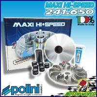 241.650 Variateur Polini Hi-Speed 6 Rouleaux pour Honda Sh I Scoopy 300 LC 2010
