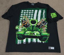 Vtg DX Army Worlds Biggest Member WWE Authentic Shirt D-Generation X WWF 2XL