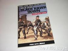 Xbox ~ XBM Revista ~ Bolsillo soluciones 39: Black Hawk Down