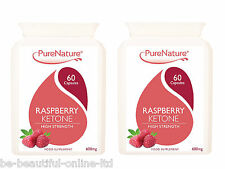 120 Raspberry Ketones 12000mg daily serving Max Strength Diet Slimming Pills