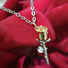 NEW Rose Gold Pendant Necklace Unusual Rare Gift For Her Valentines Xmas Present