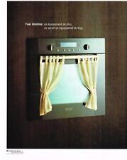 PUBLICITE ADVERTISING  2003   ARTHUR MARTIN    four intuition  éléctroménager