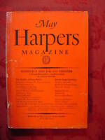 HARPERs May 1930 OWEN WISTER BERTRAND RUSSELL ROARK BRADFORD JOHN LANGDON-DAVIES