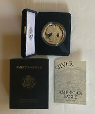 1994 P AMERICAN SILVER EAGLE PROOF ~ Original COA and Velvet Box Lowest Mintage