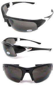 Bifocal Sports Sunglasses 2.0 2.5 3.0 Tinted Glasses for Golf Cycling Reading