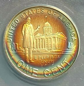 2009-S Lincoln 1c Proof Professional Years ANACS PF69 DCAM Phenomenal Toning CHN