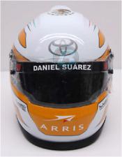 NASCAR 2017 DANIEL SUAREZ #19 ARRIS MINI HELMET