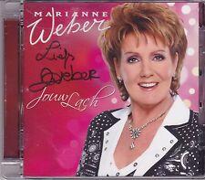 Marianne Weber-Jouw Lach cd album Gesigneerd