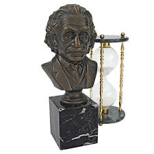 Theoretical Physicist Scientist Albert Einstein Cast Iron Gallery Bust Statue
