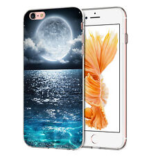 for ZTE Smartphones GEL TPU Soft Cover Case Skin Fashion Design Stylus Moon ZTE Blade A512