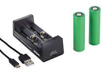 2 Sony Konion 18650 VTC5 2600mAh inkl. XTAR MC2 Ladegerät + Box für iStick PICO