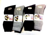 12 Pairs Men's Sport Socks-Everyday Sock-Gents Cotton Rich Socks-Size 6-11