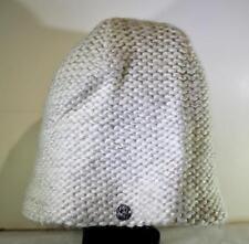 Spyder Women's Knitted Renaissance Hat Beanie One Size White147462 FAST! C24