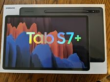 Samsung Galaxy Tab S7+ 256GB, Wi-Fi, 12.4 in - Mystic Black