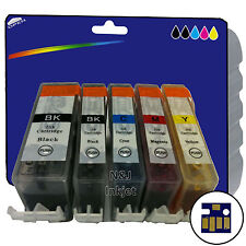 5 Inks -  Compatible Printer Ink Cartridges for Canon Pixma MP540 [520/521]