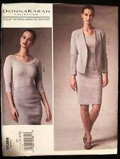 Vogue V1389 Misses Donna Karan Jacket Skirt Top - Size 12-20