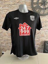 West Bromwich Albion Umbro 2010 / 2011 Away Shirt - Size Small - WBA