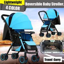 Folding Baby Stroller Pram Lightweight Buggy Travel System Jogger Kid Pushchair