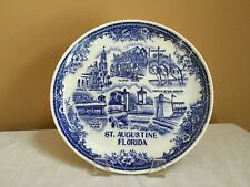 Vintage Early 1980's St. Augustine, Fl State Souvenir Collector Plate