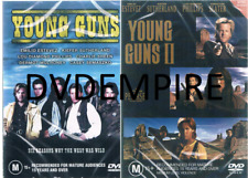 Young Guns 1&2 DVD Set New and Sealed Australia Region 4