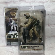 McFarlane's Military Second Tour Duty Army Desert Infantry Grenadier Figure New!