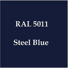 RAL 5011 HIGH QUALITY CELLULOSE PAINT STEEL BLUE 2.5L FREE Strainer & Tack Rag