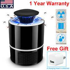 USB Electronic Fly Bug Insect Mosquito Killer Indoor Mosquito Trap Inhaled Lamp