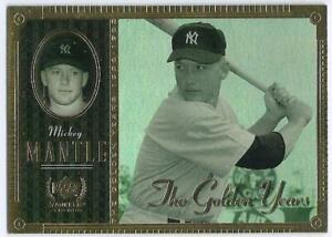MICKEY MANTLE 2000 UPPER DECK THE GOLDEN YEARS GY7 NICE