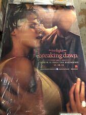 Movie Poster - 27 X 40 D/S - Twilight Breaking Dawn Part 1
