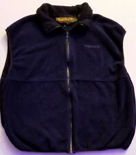 TIMBERLAND Weathergear Vest XL blue Cotton Lined Zip Up polyester preowned