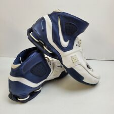 NIKE ELITE  314184-114 /SIZE 11 WHITE BLUE /Basketball shoes