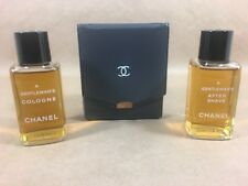 Vintage Chanel A Gentleman's Cologne & After Shave Set 4 Fl. Oz