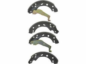 For 2005-2016 Smart Fortwo Brake Shoe Set Rear API 66767TT 2008 2013 2006 2007