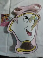 CHIP Disney Beauty and The Beast Coin Purse Hand Bag New With Tags