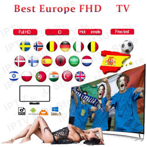 IP&TV Subscription 12 Months Smarters Pro Smart TV Android Box MAG Adult M3U