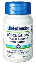 3X$15 Life Extension Macuguard Ocular Support w/ Saffron NEW FORMULA eye health