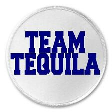 """Team Tequila - 3"""" Circle Sew / Iron On Patch Alcohol Liquor Humor Booze Drunk"""