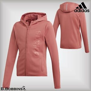 🔥 Adidas® Girls CLIMAWARM™ GU FZ Hoodie Jacket Age 7-8-9-10-11-12-13-14 Years